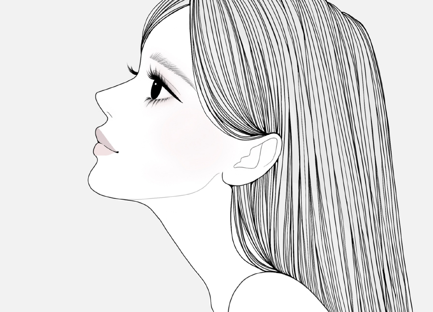 女性のイラスト