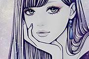エキゾチックな女性のイラスト
