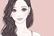 美人な女性のイラスト